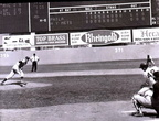 Jim Bunning hurls the final pitch to tally a perfect game on June 21, 1964