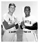 Stan Musial & Willie Mays in San Francisco