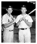 Stan Musial & Mickey Mantle