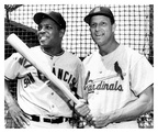 Willie Mays & Stan Musial